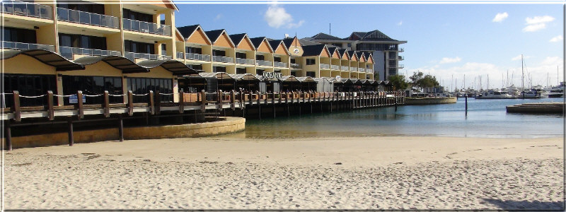 Mandurah beach for children image